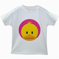Peekapoo Chicken White Kids'' T-shirt