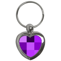 Purple Shades Key Chain (heart)
