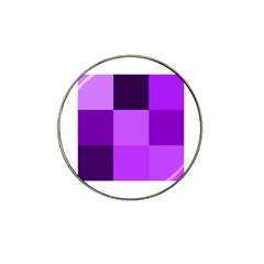 Purple Shades 10 Pack Golf Ball Marker (for Hat Clip)