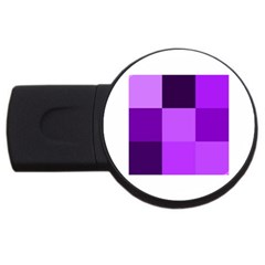 Purple Shades 4Gb USB Flash Drive (Round)