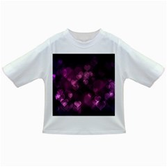 Purple Bokeh Baby T-shirt