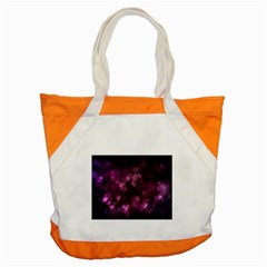 Purple Bokeh Snap Tote Bag