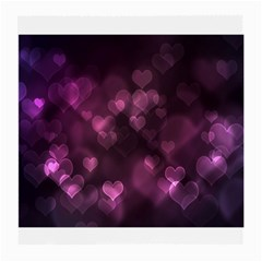 Purple Bokeh Single-sided Large Glasses Cleaning Cloth