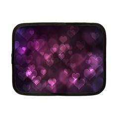 Purple Bokeh 7  Netbook Case
