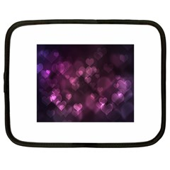 Purple Bokeh 12  Netbook Case