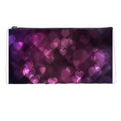 Purple Bokeh Pencil Case