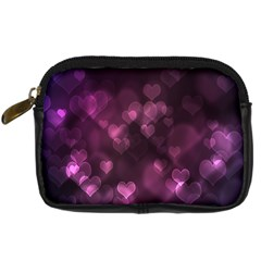 Purple Bokeh Compact Camera Case