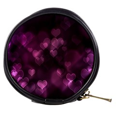 Purple Bokeh Mini Makeup Case
