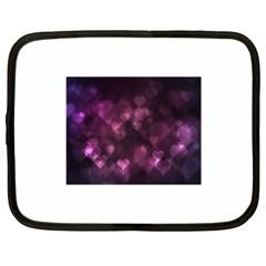 Purple Bokeh 15  Netbook Case