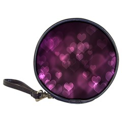 Purple Bokeh Cd Wallet