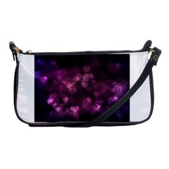 Purple Bokeh Evening Bag