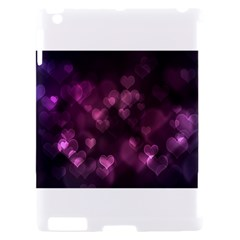 Purple Bokeh Apple iPad 2 Hardshell Case (Compatible with Smart Cover)