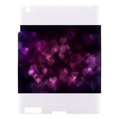 Purple Bokeh Apple Ipad 3 Hardshell Case