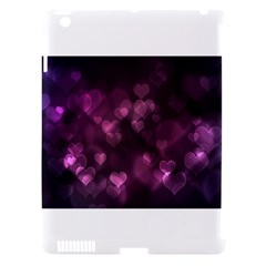 Purple Bokeh Apple iPad 3 Hardshell Case (Compatible with Smart Cover)