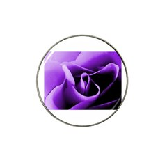 Purple Rose Golf Ball Marker (for Hat Clip)