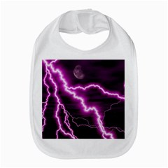 Purple Lightning Bib