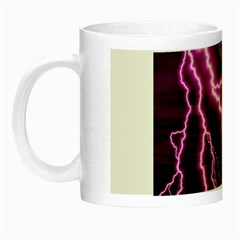 Purple Lightning Glow in the Dark Mug