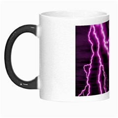 Purple Lightning Morph Mug