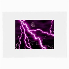 Purple Lightning Twin-sided Handkerchief