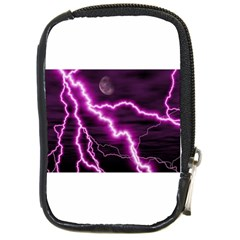 Purple Lightning Digital Camera Case