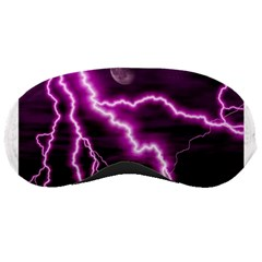 Purple Lightning Sleep Eye Mask