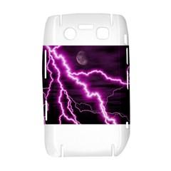 Purple Lightning BlackBerry Bold 9700 Hardshell Case