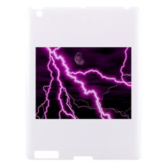 Purple Lightning Apple Ipad 3 Hardshell Case
