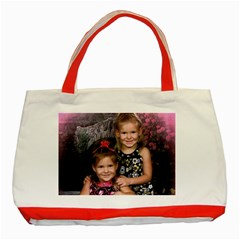 Grandbabies Red Tote Bag