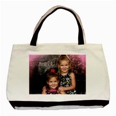 Grandbabies Twin-sided Black Tote Bag