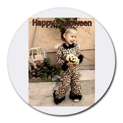 Trick or Treat Baby 8  Mouse Pad (Round)