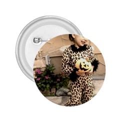 Trick or Treat Baby Regular Button (Round)