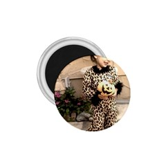 Trick or Treat Baby Small Magnet (Round)
