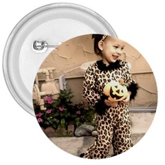 Trick or Treat Baby Large Button (Round)