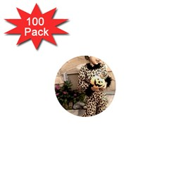 Trick or Treat Baby 100 Pack Mini Magnet (Round)