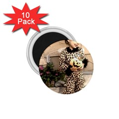 Trick or Treat Baby 10 Pack Small Magnet (Round)
