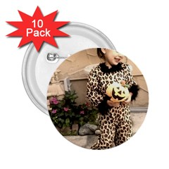 Trick or Treat Baby 10 Pack Regular Button (Round)