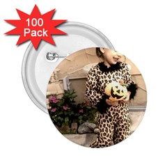 Trick or Treat Baby 100 Pack Regular Button (Round)