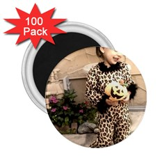 Trick or Treat Baby 100 Pack Regular Magnet (Round)