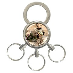 Trick or Treat Baby 3-Ring Key Chain