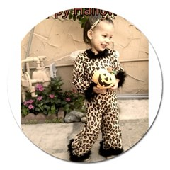 Trick Or Treat Baby Extra Large Sticker Magnet (round)