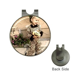 Trick or Treat Baby Hat Clip with Golf Ball Marker
