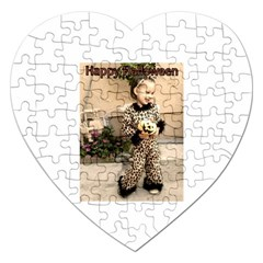 Trick or Treat Baby Jigsaw Puzzle (Heart)