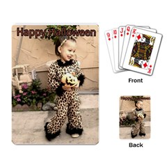 Trick or Treat Baby Standard Playing Cards