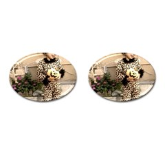 Trick or Treat Baby Oval Cuff Links