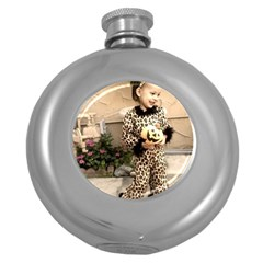 Trick Or Treat Baby Hip Flask (round)