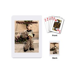 Trick Or Treat Baby Playing Cards (mini)