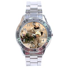 Trick or Treat Baby Stainless Steel Analogue Watch (Round)