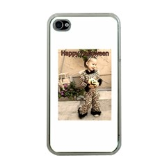 Trick or Treat Baby Apple iPhone 4 Case (Clear)