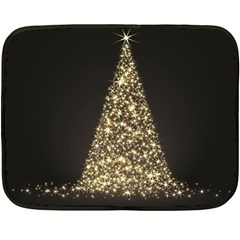 Christmas Tree Sparkle Jpg Twin-sided Mini Fleece Blanket