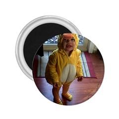 Baby Duckie Regular Magnet (round)